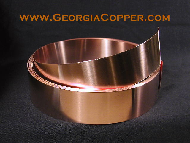 Georgia copper comparison of braid strap wire flat copper strap greentooth Images