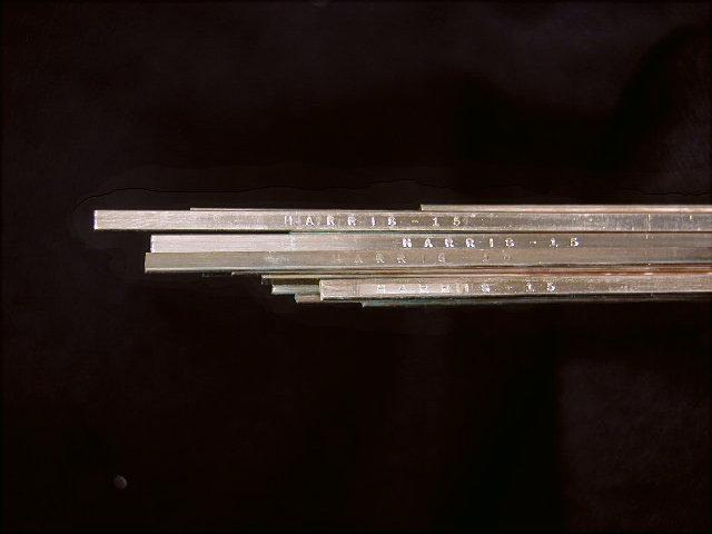 Harris 15/% silver welding rods