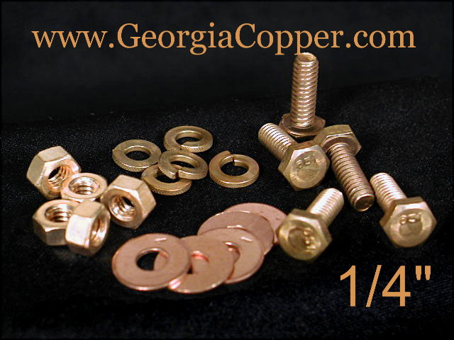 Copper Nuts And Bolts >> Georgia Copper Hardware