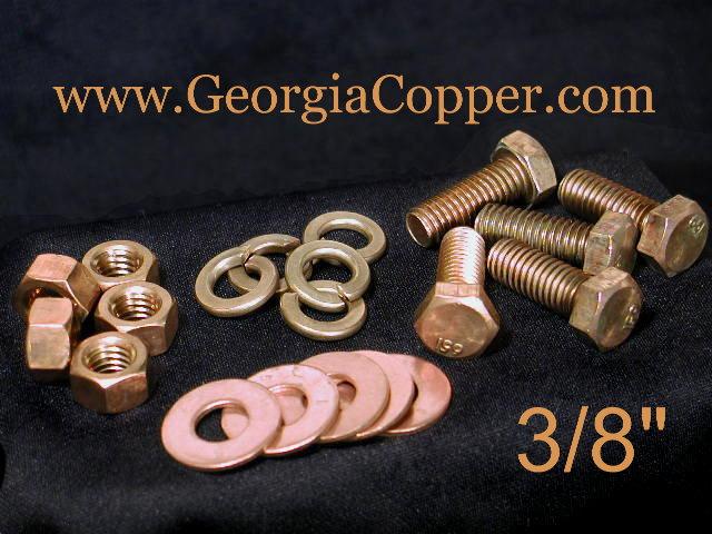 Copper Nuts And Bolts >> Georgia Copper Hardware