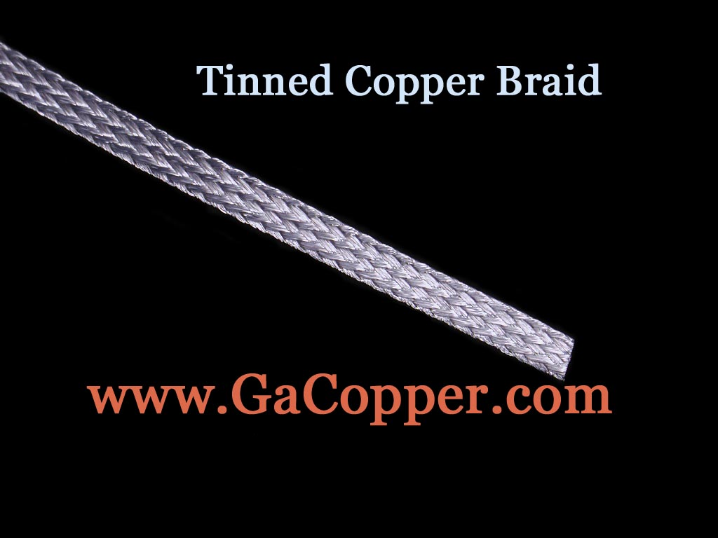 Georgia copper tinned copper braid 6000 circular mils equivalent to approx 13 awg nominal width 14 inch nominal thickness 046 inch approx weight 20 lbs1000 ft keyboard keysfo Choice Image