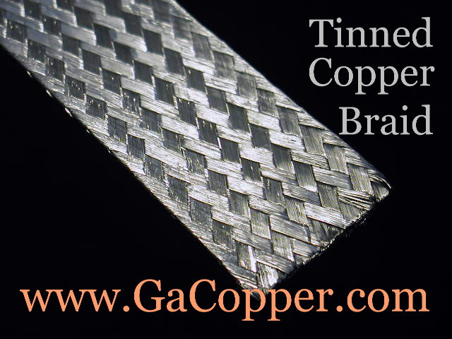 Georgia Copper Comparison Of Braid Strap Wire