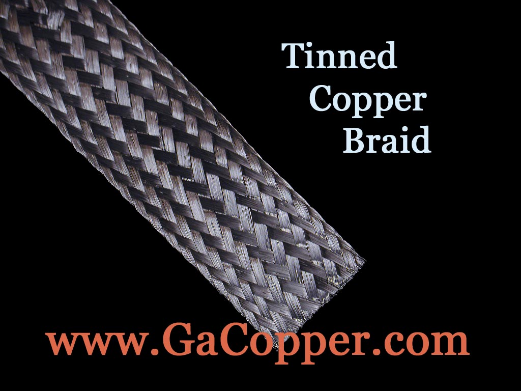 Georgia copper tinned copper braid 21600 circular mils equivalent to approx 7 awg nominal width 1 inch nominal thickness 045 inch approx weight 75 lbs1000 ft keyboard keysfo Choice Image